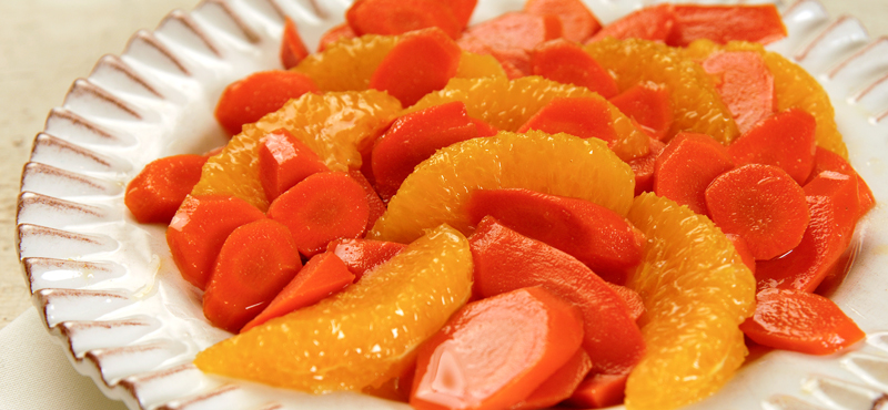 This colorful side dish adds a sweet tangy punch to any meal.