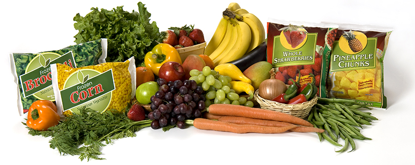 Fruits and vegetables are packed full of vitamins, minerals, fiber, and other nutrients that promote good health.