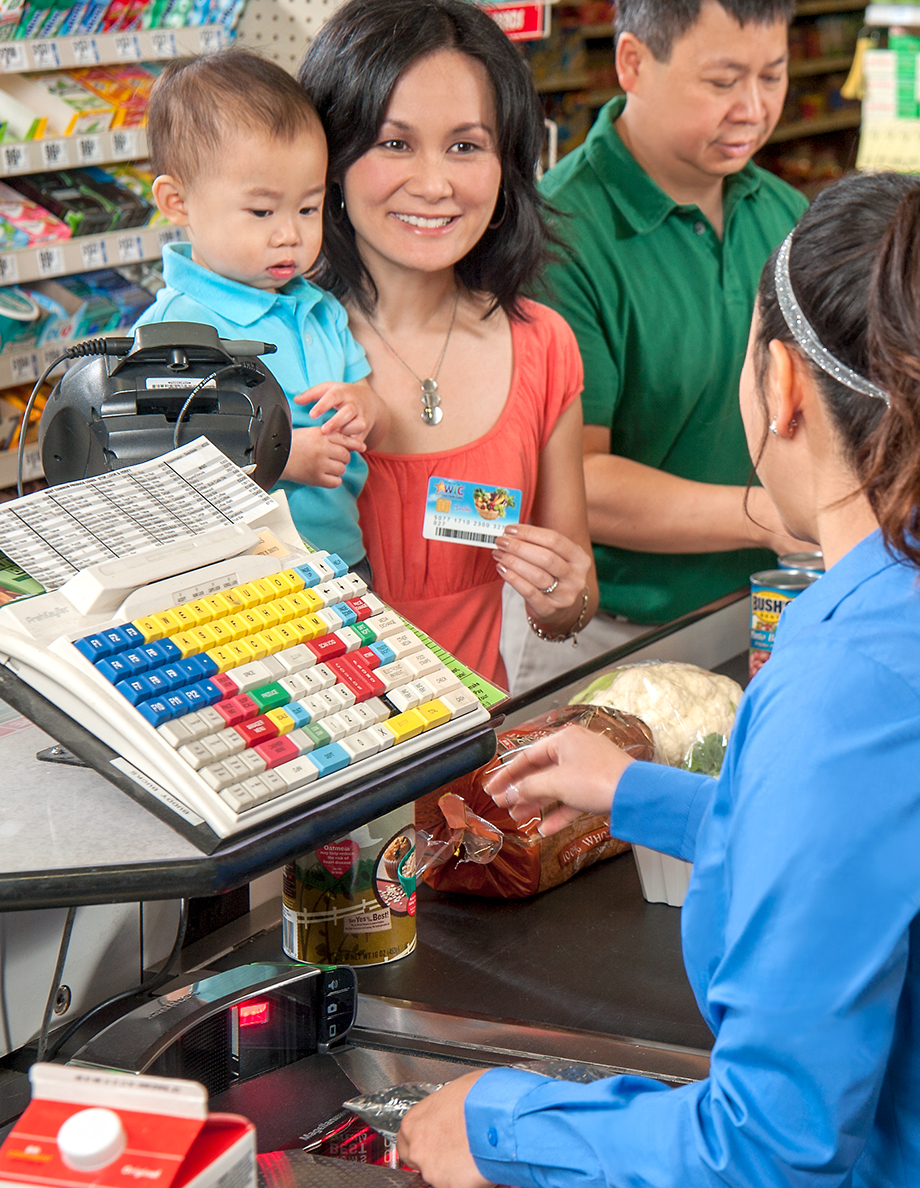 "Save your WIC receipt for your next shopping trip so you know how much you have left in your ""WIC balance."""