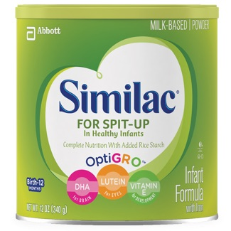 Similac for Spit-Up container