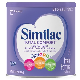 Similac Total Comfort container