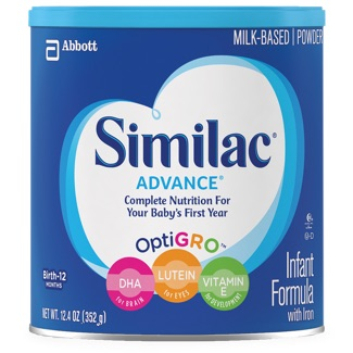 Similac Advance container
