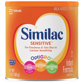 Similac Sensitive container