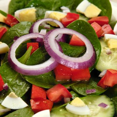 Get your greens with this yummy and easy salad.