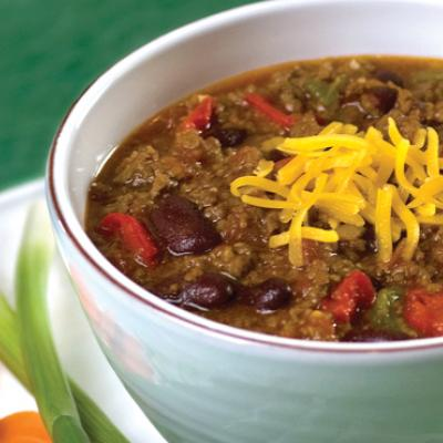Does chili sound good, but also like too much work? That's not the case with this easy recipe.