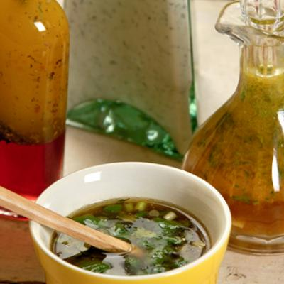 This basic vinaigrette is easy to make and perfect for any salad.