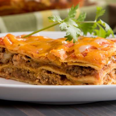 A Tex-Mex spin on lasagna the whole family will enjoy.
