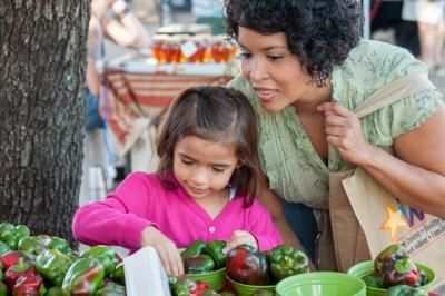 Children are likely to copy your table manners, your likes and dislikes, and your willingness to try new foods.
